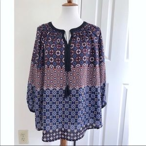 Nordstrom printed blouse
